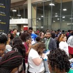 The scene at Tuesday's Education Day during CIAA week