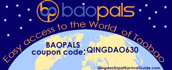 Baopals coupon code Qingdao Expat China