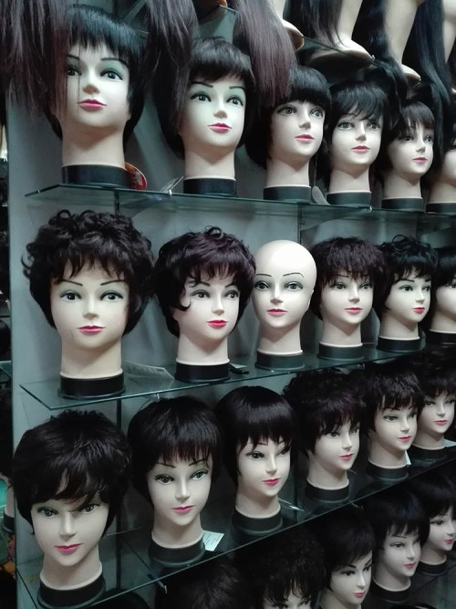 Jimo lu Qingdao China fake market 12
