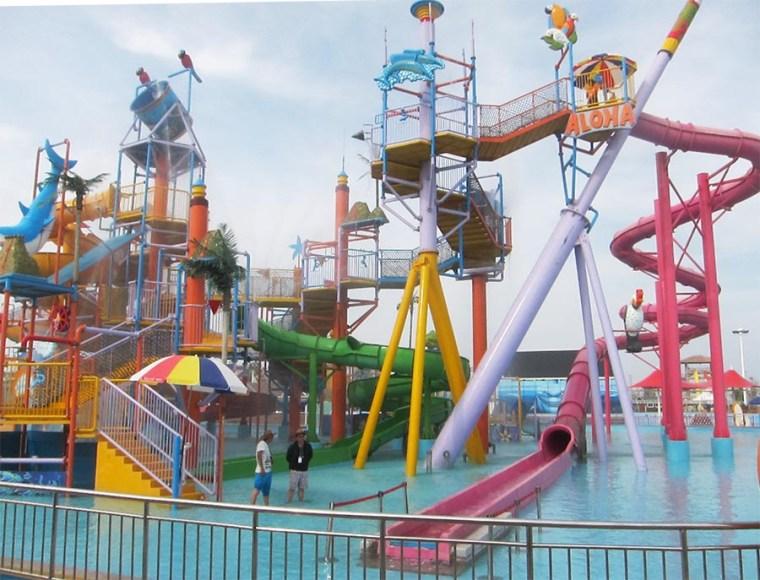 qingdao expat day trip waterpark haiyang families