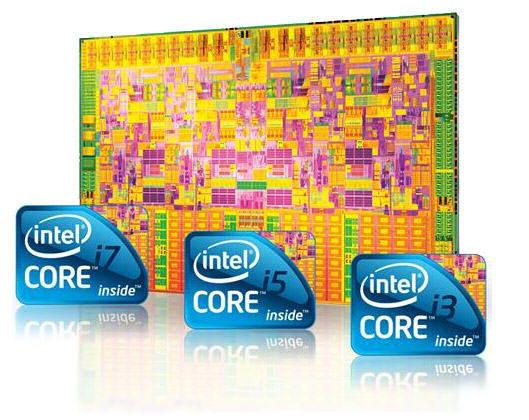 Procesadores Intel Core i3, Core i5 y Core i7
