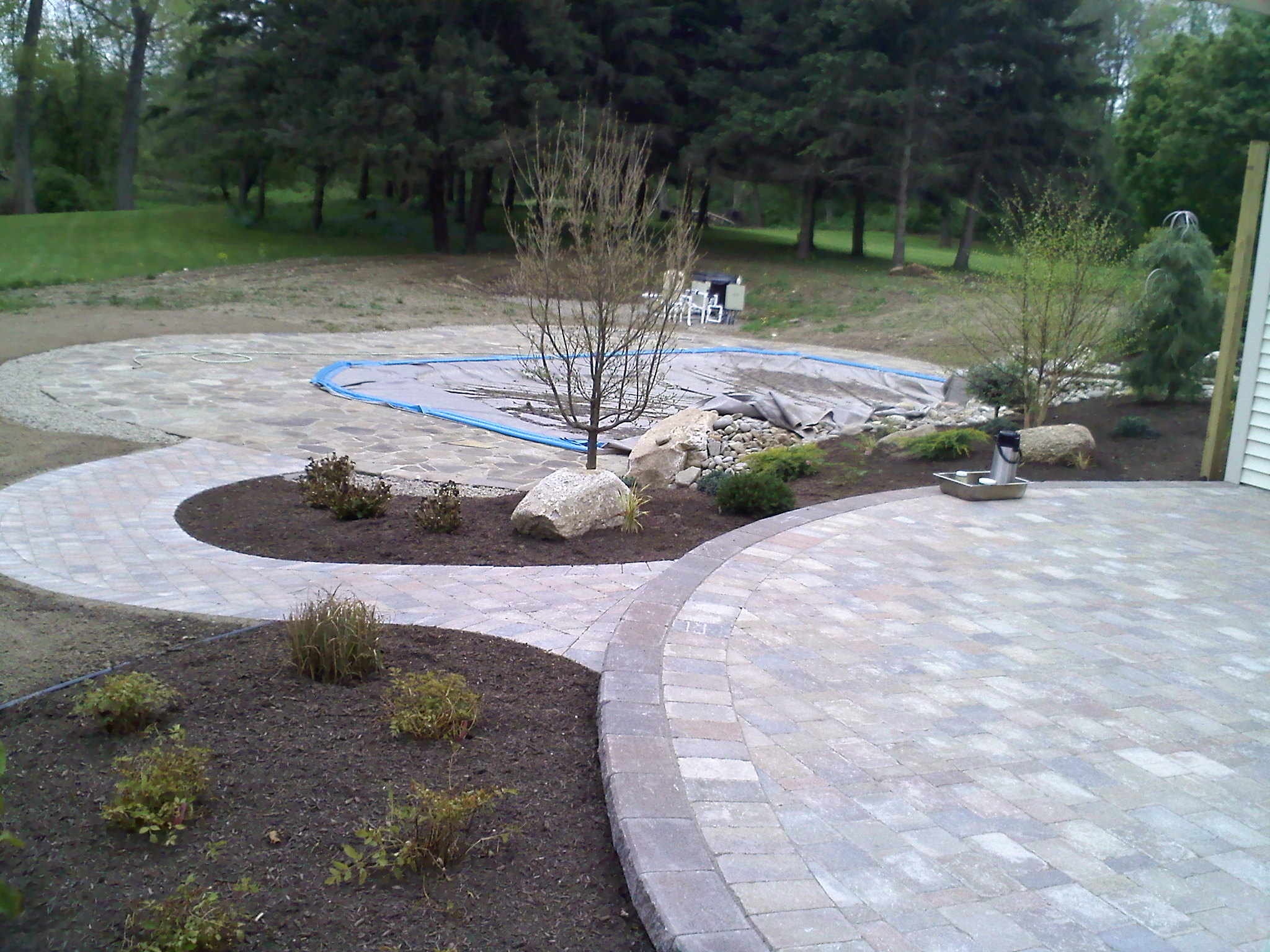 Brick Paving Work in Buffalo New York