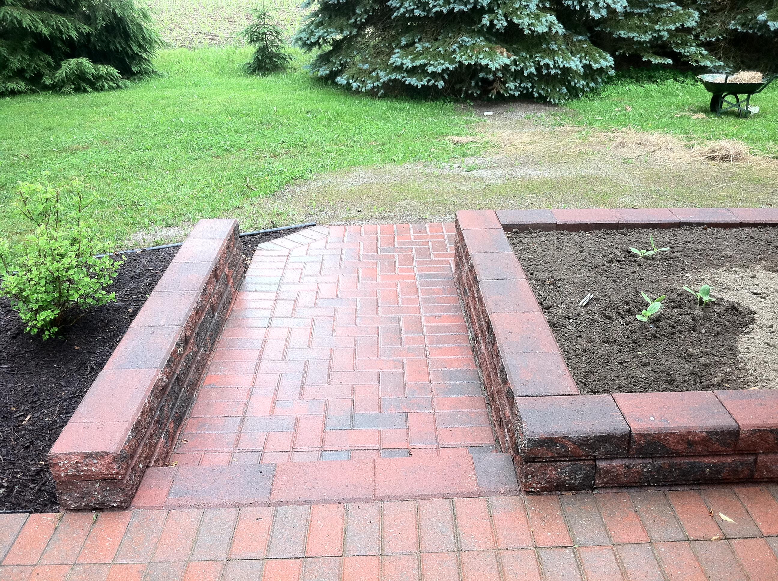 Brick Paving Sidewalk Buffalo NY