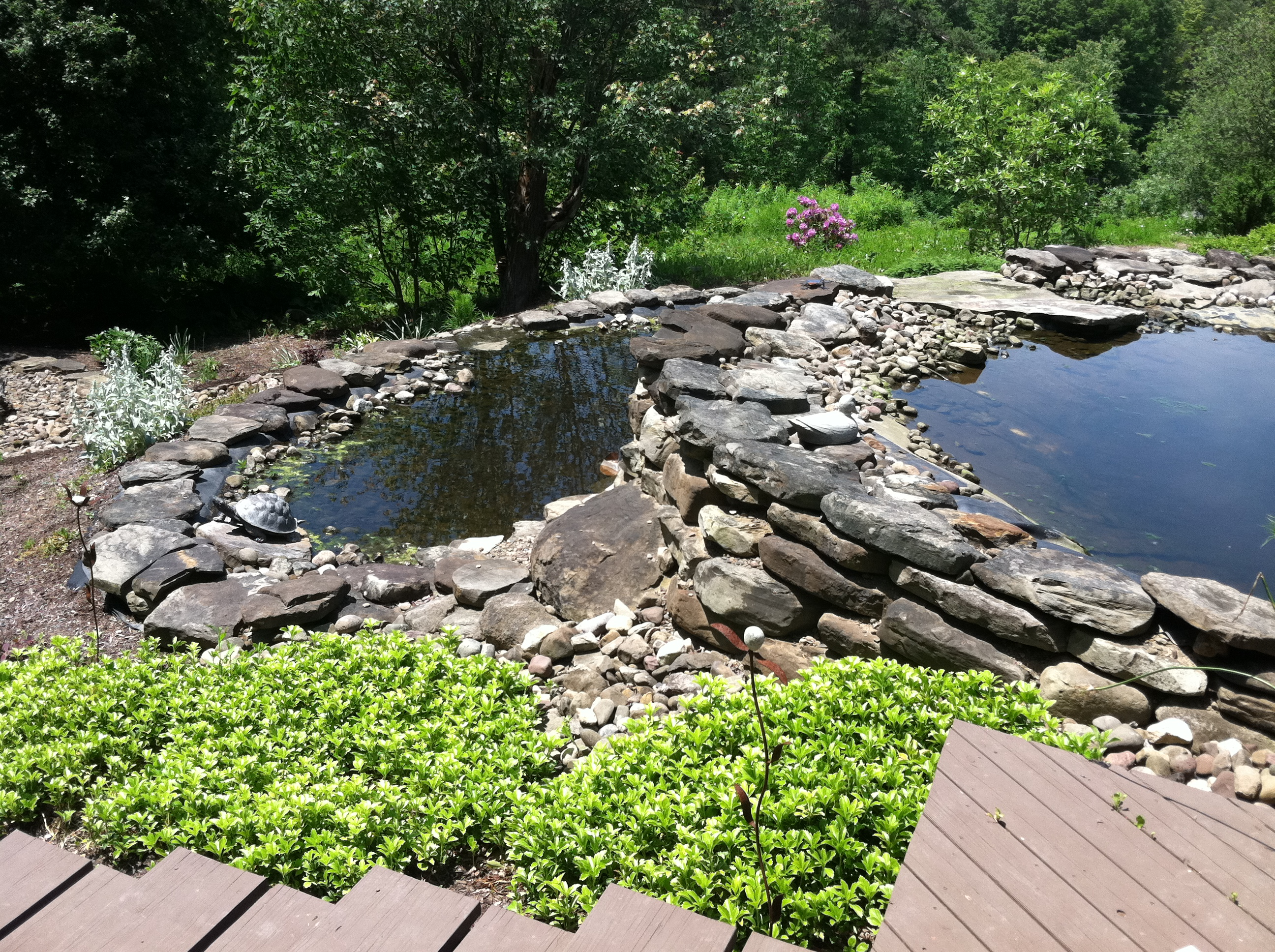 Custom Stone Water Feature Buffalo Ny