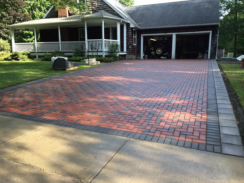 Custom Brick Driveway Buffalo, NY