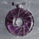 Amethyst Vortex Pendant w/ Sterling Silver