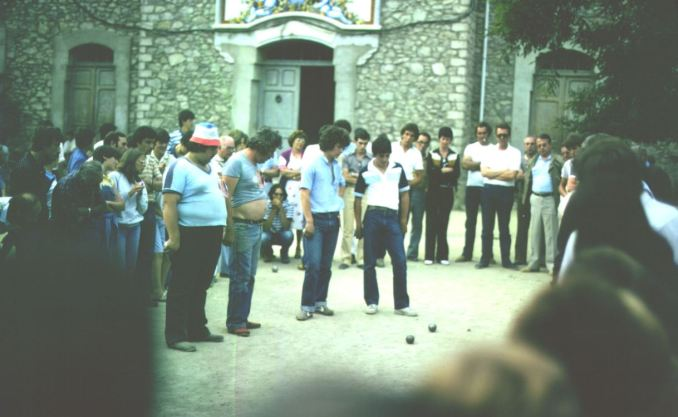Boule-Turnier in Martinet Petanca