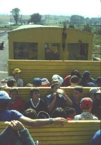 Le Petit Train Jaune Offener Waggon, Kinder