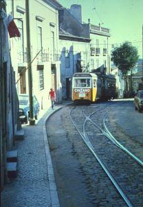 Lisboa Electrico beim Fort m. Karl