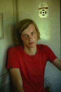Portrait im Zug bei Montpellier