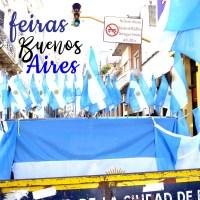 As feiras de Buenos Aires, San Telmo e Caballito