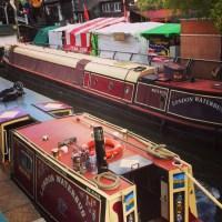De Camden até Little Venice pelo London Waterbus