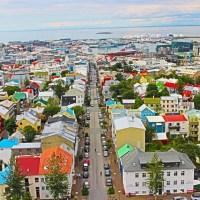 Pelas ruazinhas de Reykjavik