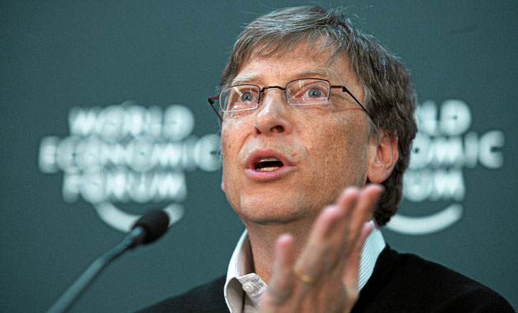 Bill Gates (No.1. Forbes top 400)