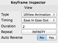 Keyframe UIView