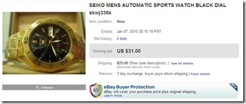Only USD31 for a Seiko 5 Sports. No way.