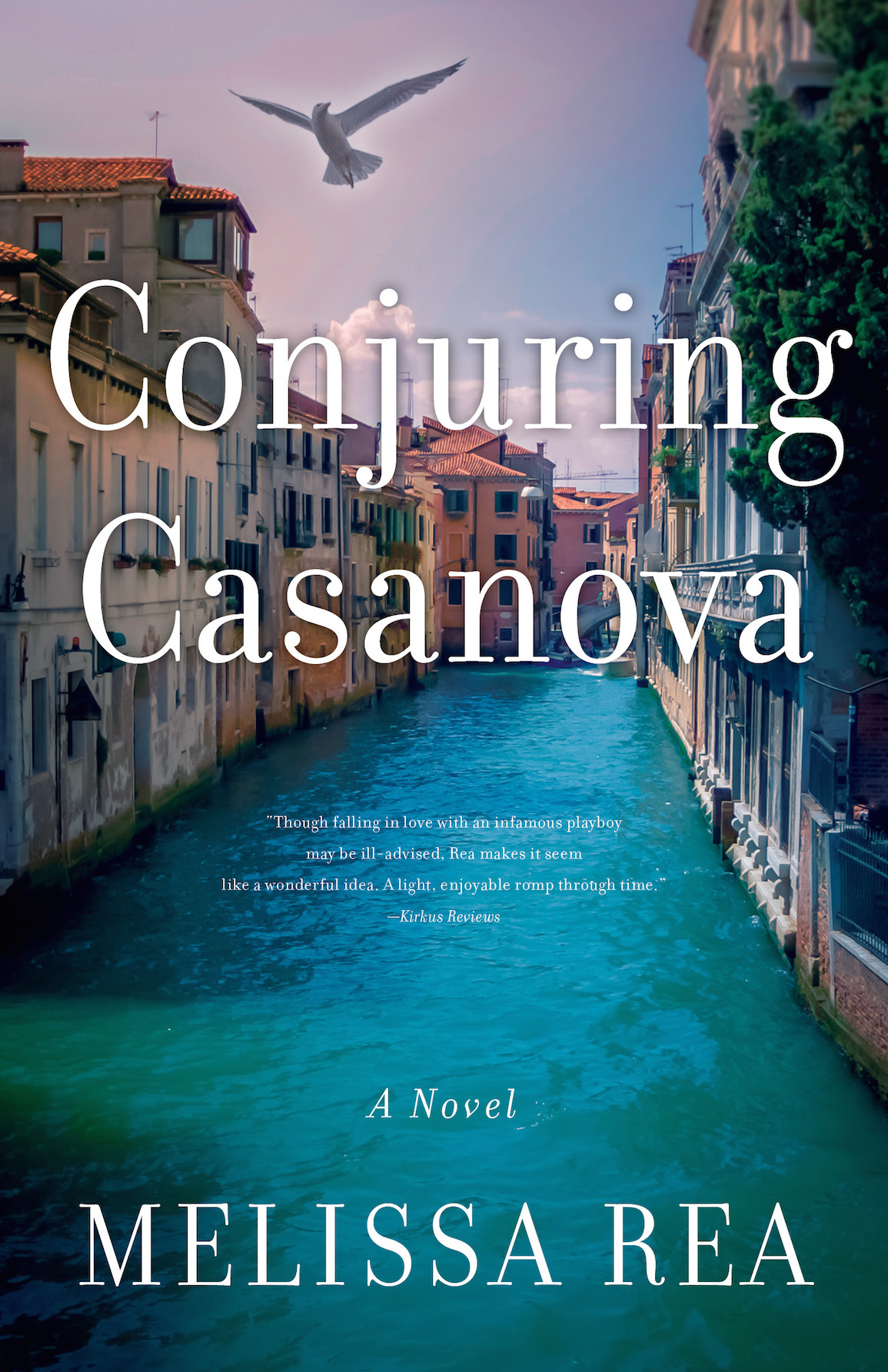 Cover Conjuring Casanova a Novel by Melissa Rea