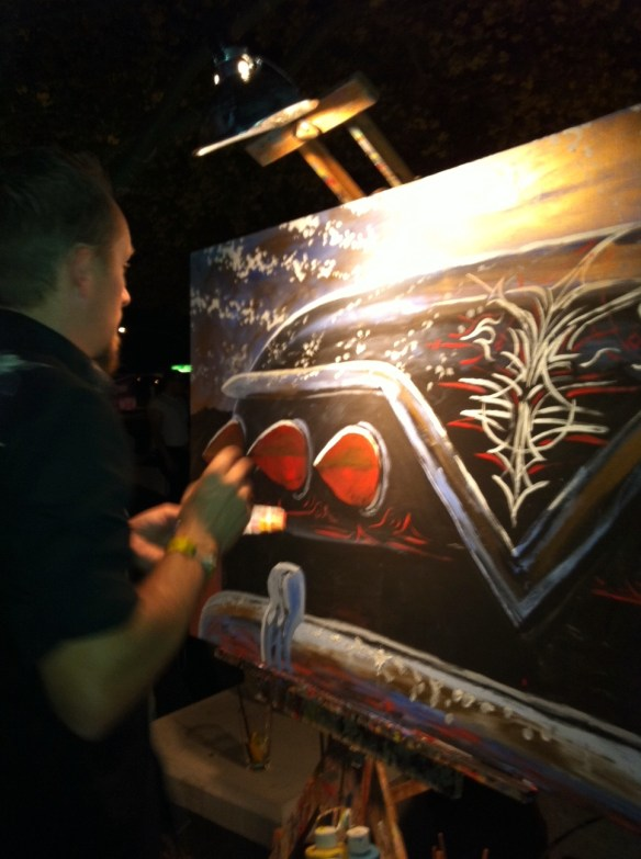 Live Painting.  Impala.  2011.  3'X5'  $500