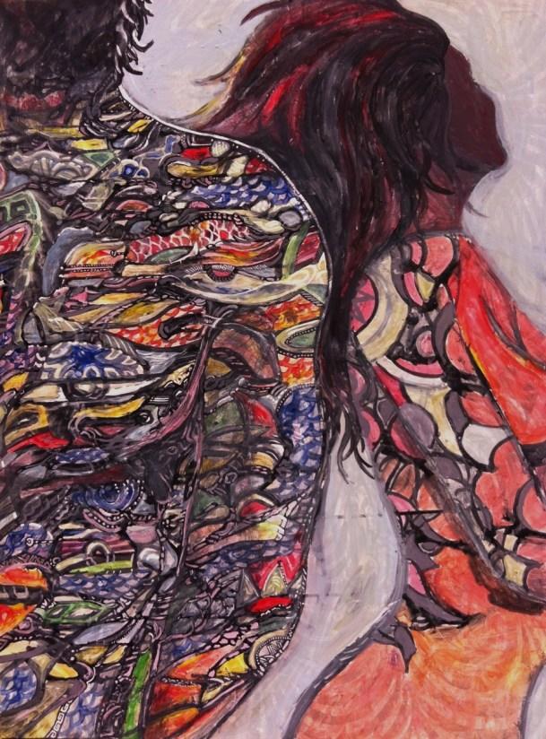 Bodywork. Painting. 2013  3'X5'  $700