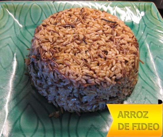 Fideos Arroz Fritos Arroz de Fideo