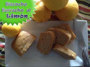Bizcocho Borracho al Limon