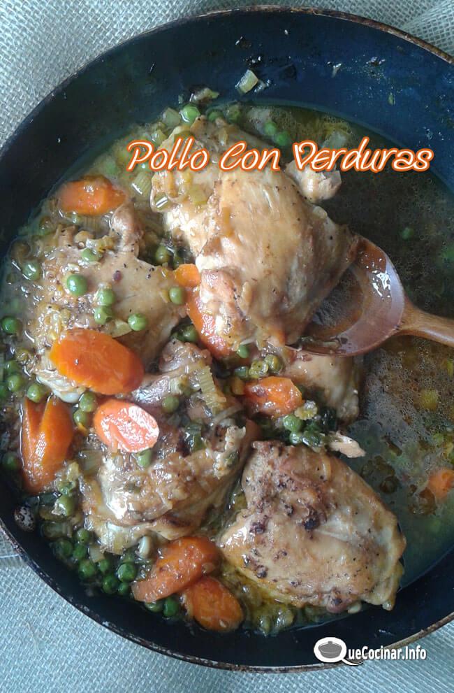 Pollo Con Verduras Delicioso| Recetas Con Pollo