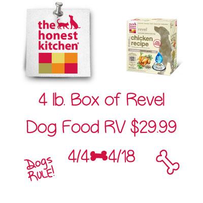 The Honest Kitchen Revel Dog Food Giveaway Ends 4 18 Honestkitchen
