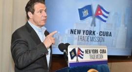 Gobernador Cuomo: 'Hay que quitar embargo a Cuba'