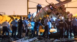 Accidente de Amtrak en Nueva Jersey deja 7 muertos