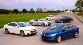 Chevrolet Cruze 2016: Ligero, sofisticado y de mayor venta en el mundo
