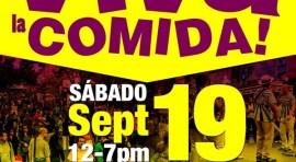 El sábado 19 de septiembre Viva la Comida en la calle 82 y la Roosevelt Ave.
