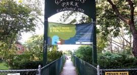 Sunnyside Gardens Park's 5th Annual Vintage Cartoon and Live Music Night
