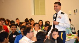Army Challenges Latinos on the Fast Track; Partnership Leverages Army Resources and Expertise to Develop Future Leaders in STEM
