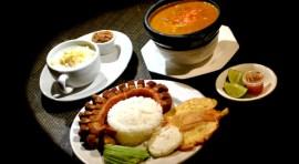 La Ruana Paisa con el mejor plato montañero