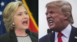 Clinton supera a Trump por 12 puntos