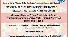 Desfile de la Hispanidad de Queens invita a 'Saludo de las Américas' el sábado 7 de mayo en el Museo de Arte de Queens