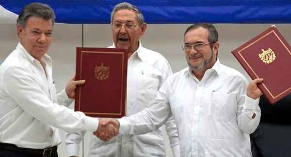 Firma del acuerdo de Paz en Colombia y las FARC deja de ser guerrilla