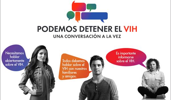 Campaña en español contra el estigma HIV/AIDS en latinos