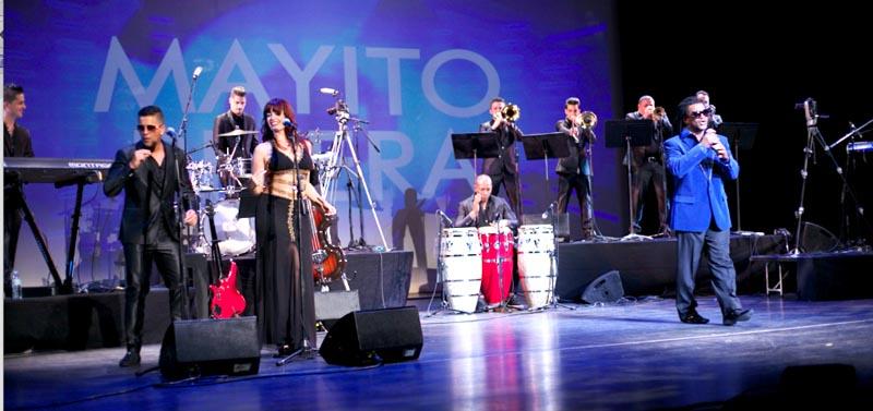 El programa musical Mayito Rivera que ahora se puede ver en DishLATINO por CUBAMAX TV. Fotos cortesía