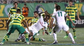 Cosmos vence a Rowdies en partido intenso