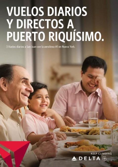 Delta Air Lines lanza campaña para latinos de Nueva York y Los Angeles