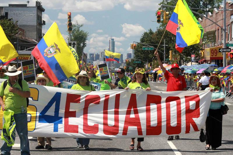 Los ecuatorianos anhelan que su presidente Correa presione a la Casa Blanca por el TPS.