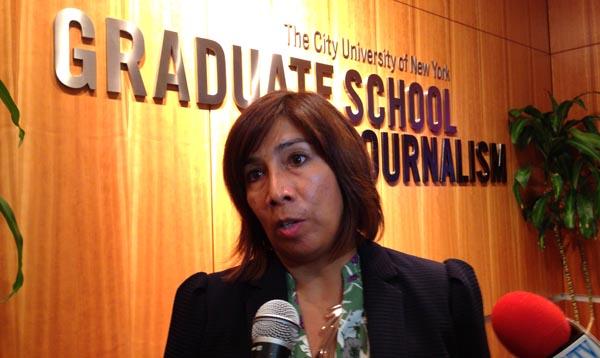 Comisionada del Departamento del Consumidor de NYC habla con la prensa étnica