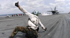 Dayton Native Follows Flight Dreams in US Navy