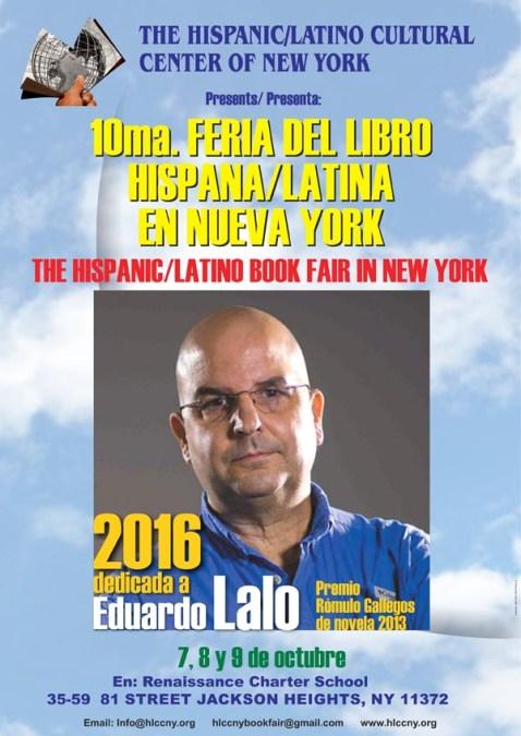 Feria del Libro Hispana/Latina en Queens del 7 al 9 de octubre