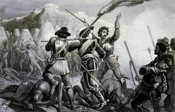 Día de la raza: Exterminio de indígenas en América
