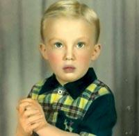 Donald Trump a los cuatro años.