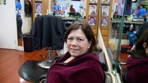 Edilma Pérez votará por Hillary, aunque no está totalmente convencida de la candidata demócrata.