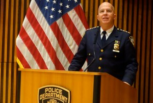 James P. O'Neill, NYC Police Commissioner. Photo Javier Castaño