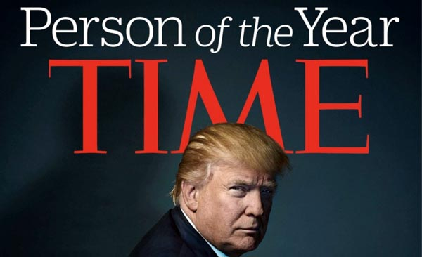 Donald Trump es el Personaje del Año de la revista Time
